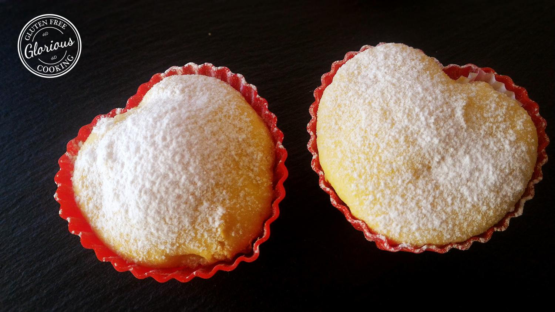 muffins senza glutine alle mele e bergamotto